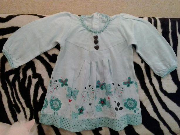 Платье-Туника для девочки 4-6 лет