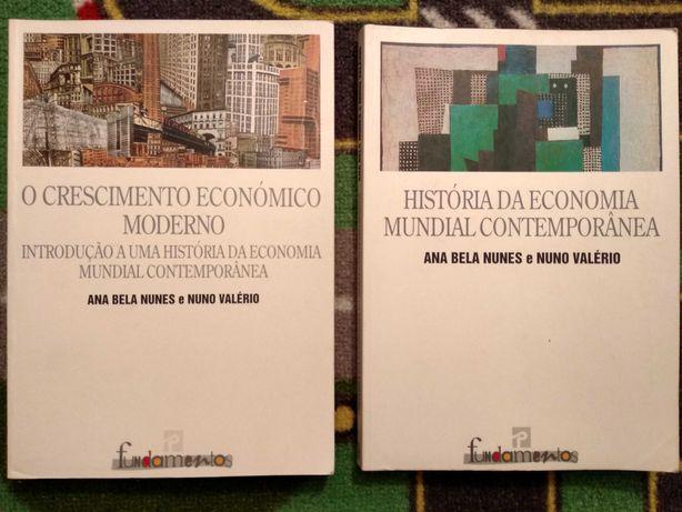 Livros História - Economia