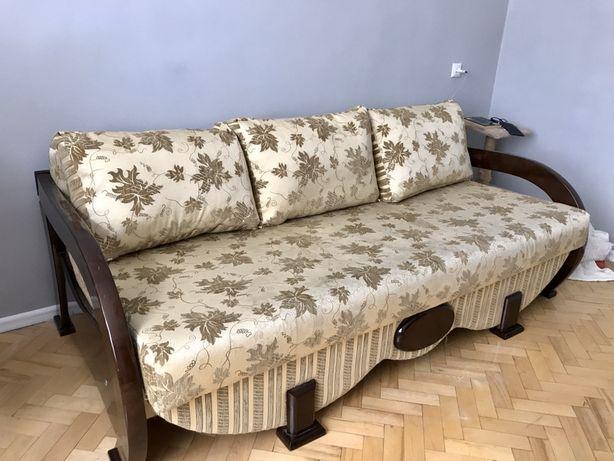 Диван двохмісний два місця Львів меблі в спальню розкладний диван