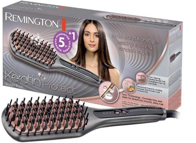 щетка для выпрямления волос Remington Cb7480 Keratin Protect