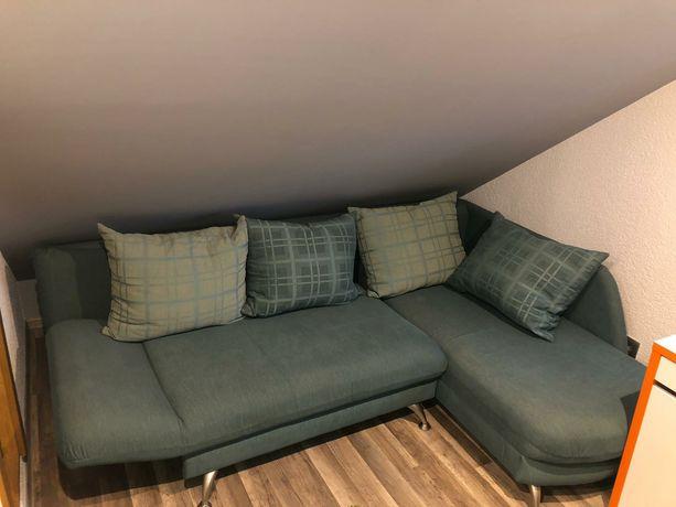 Łóżko skladane kanapa narożnik 2 osobowe