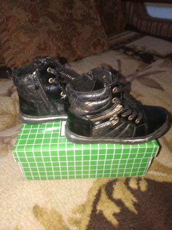 Ботинки для девочки осень