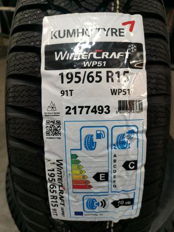 Kumho WinterCraft WP51 195/65r15 91T Nowe