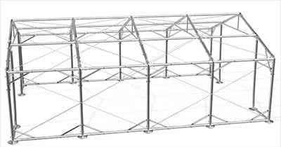 Namiot magazynowy, handlowy, Hala rolnicza całoroczna; 8x12x3m