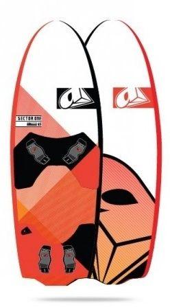 Deska kitesurfing Airush, Kite, kierunkowa, słabowiatrowa Race