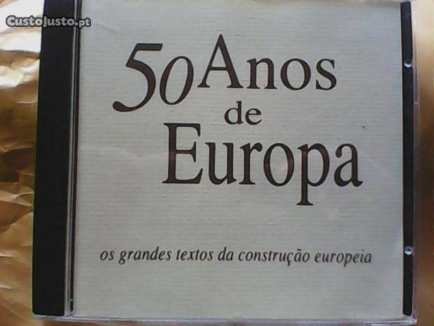 50 Anos de Europa textos da construção