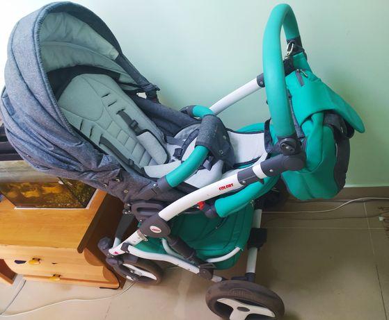 Коляска Tako Baby Heaven Colors  2 в 1
