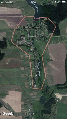 Земельна ділянка Стегниківці 46,5 соток