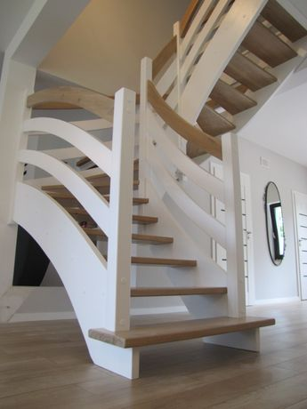 schody Q debowe jesionowe styl 2Q natura white Polska i UE