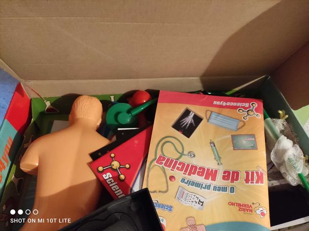 Anatomia 2 em 1 kit de criança