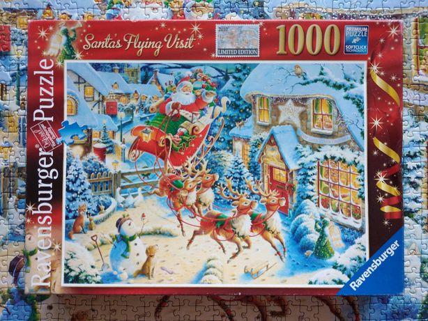 Puzzle Ravensburger 1000 Świąteczne