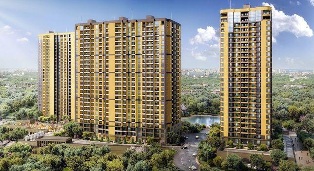 Ваша новая 2-к квартира 62м2 в ЖК Медовый-2, рядом м.Васильковская