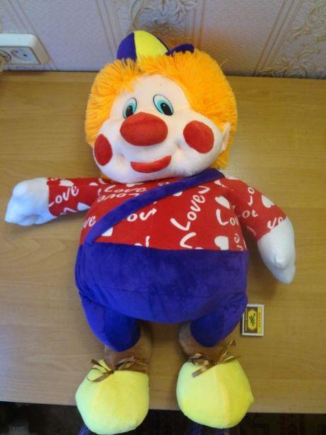 мягкая игрушка Клоун 500 р., мышка 400р.