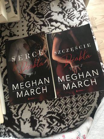 Meghan Mach Pakt z diabłem/ szczęście diabła/ serce diabła