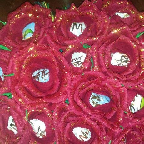 букеты с конфетами на заказ