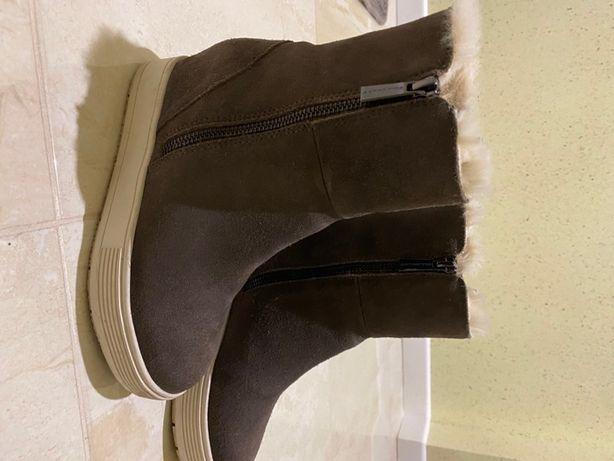 Зимові ботинки Fornarino на платформі