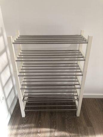 Sapateira branca IKEA
