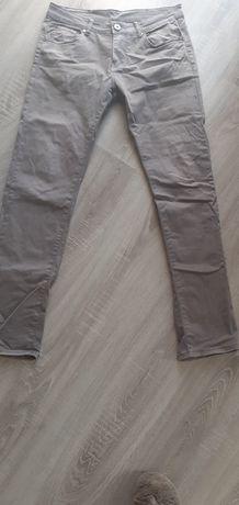Szare spodnie z Vinted