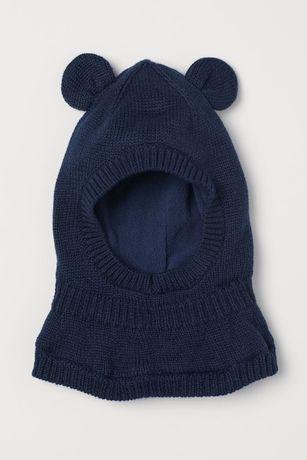 Детская шапка шлем н&м балаклава 6-12 месяцев