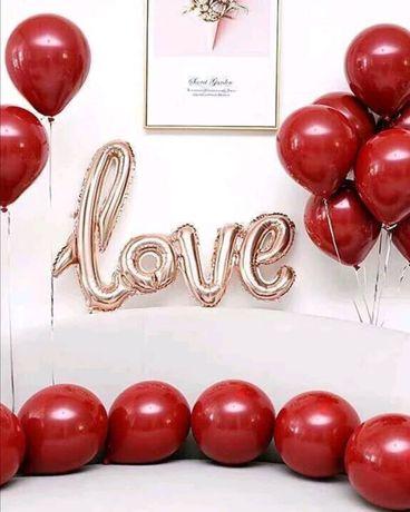 Balões Surpresa LOVE