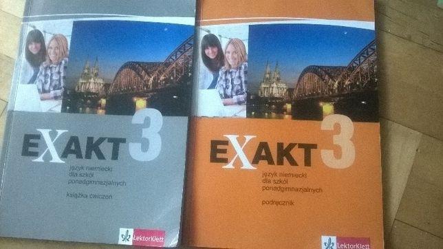 exakt 3 ćwiczenia i podręcznik język niemiecki