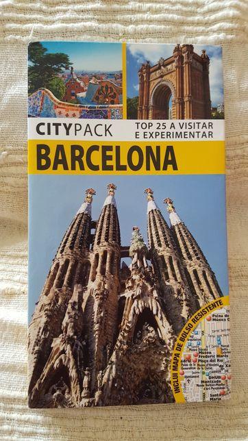 Guia de Viagem Barcelona City Pack top 25