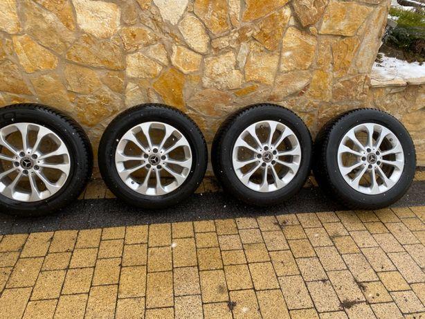 Koła zimowe oryginał Mercedes GLA A156 215/60/17 Michelin Alpin super!