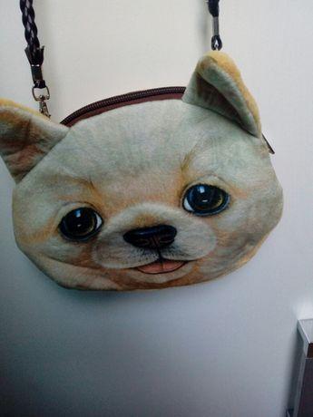 Sprzedam torebke z wyglądem psa