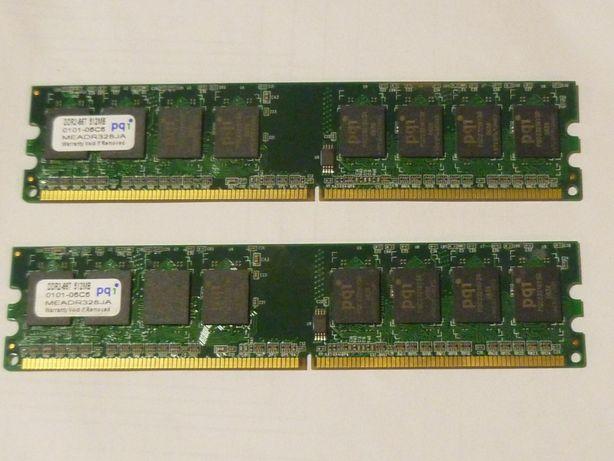 Оперативная память DDR2 пара по 512 Мб