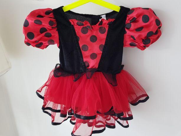 Wysylka 1 zł Strój dziewczynka 86 cm sukienka bal przebierańców