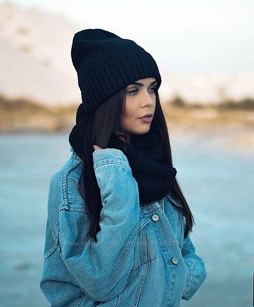 Женские шапочки, комплекты, повязки ручной работы Новая Каховка - изображение 1