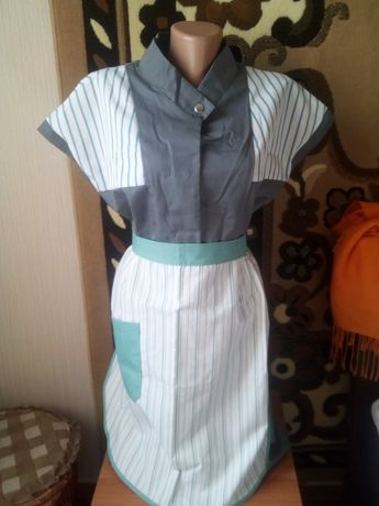 Халати фартухи спец одяг