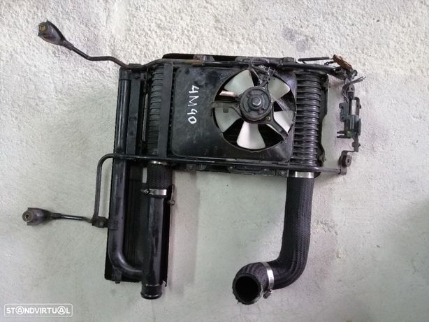 Radiador do Intercooler mitsubishi pajero 2.8 td 4m40