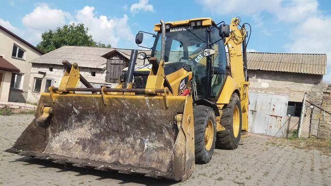 Schemat hydrauliczny instrukcja cat416e,422e,428e