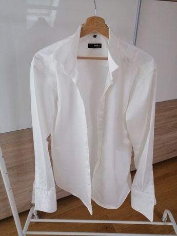 Koszula ślubna na spinki