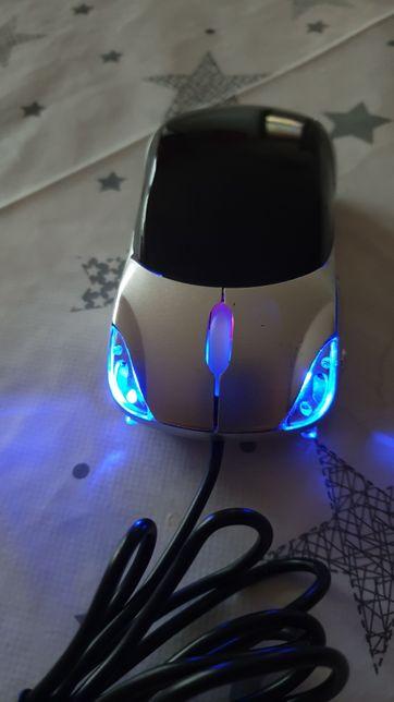 Mysz komputerową optyczną samochód