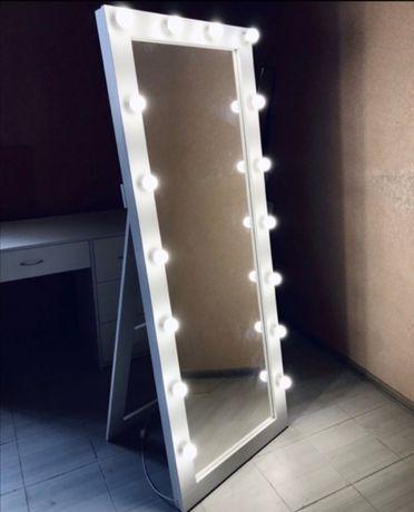 Гримерное зеркало ростовое с подсветкой Бесплатная доставка