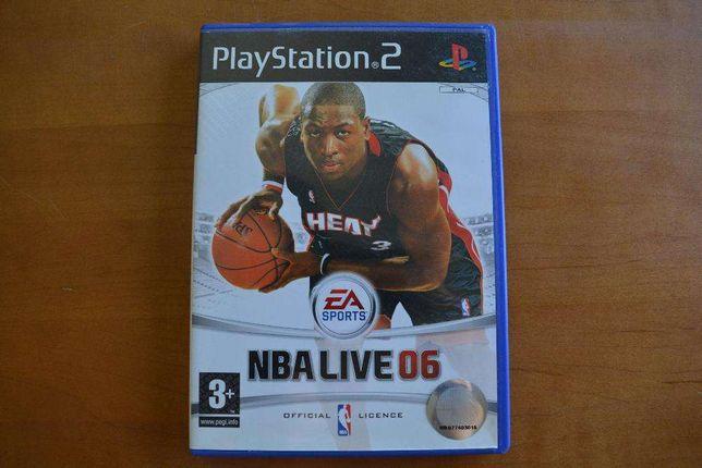"""Venda de jogo para Playstation 2 """"NBA Live 06"""""""