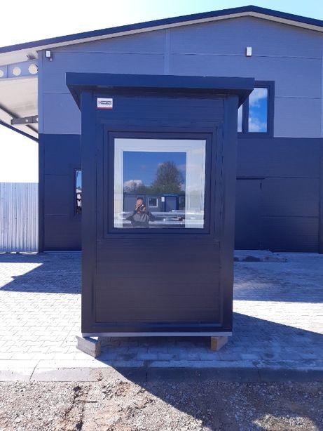kontener biurowy stróżówka biuro wartownia budka ochrony pawilon kiosk