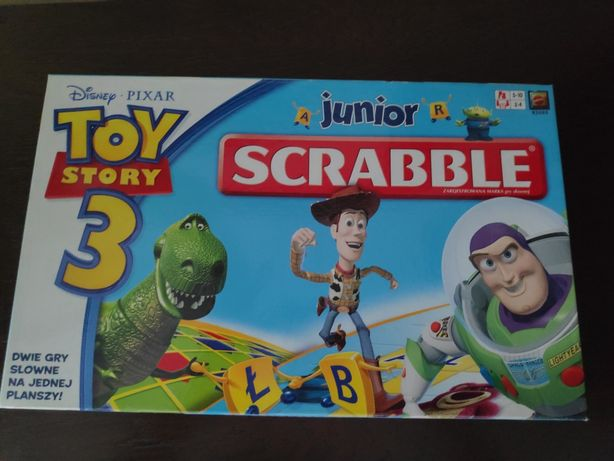 Scrabble junior dla dzieci Disney