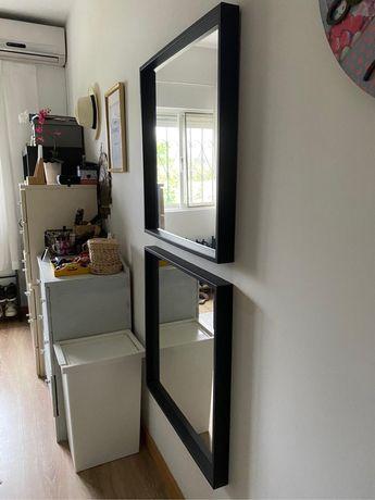 2 espelhos ikea 15€ cada