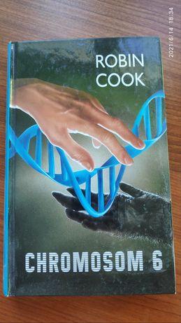Książka Chromosom 6 - Robin Cook Tanio!