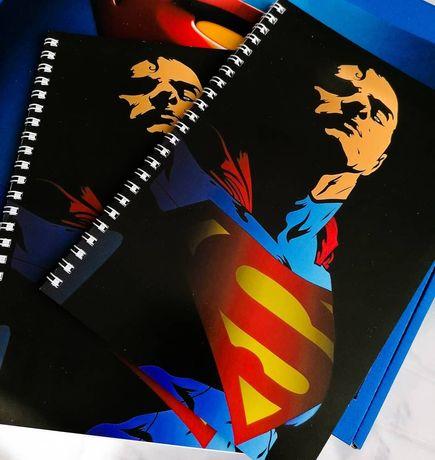 Блокнот Superman, блокнот Супермэн