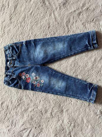 Jeansy dla dziewczynki roz 86