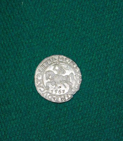 Полугрош монета 1561 рік