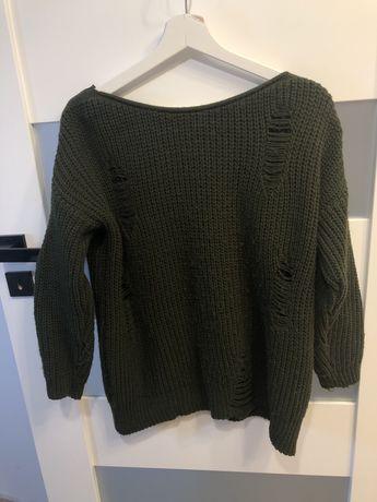 Sweter khaki