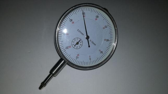 Comparador analógico precisão de 0,01mm alcance de 10mm