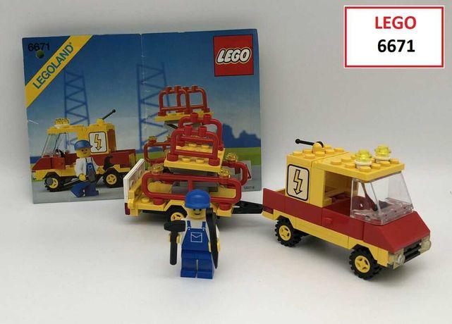 LEGO CITY Classic: 6671; 6689; 6652; 6646; 6656; 6501; 6681