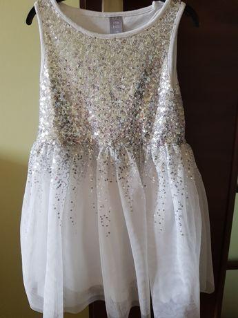 Sukienka dla dziewczynki rozmiar 116