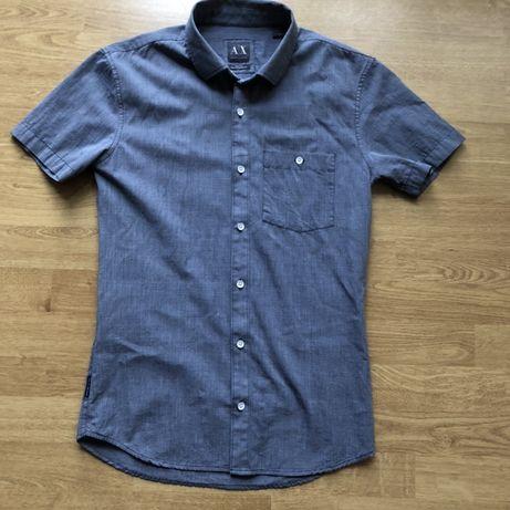 Koszula męska  z krótkim rękawem Armani Exchange  Rozmiar XS